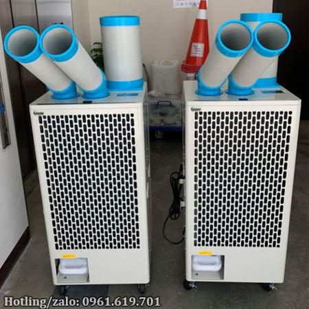 Hình ảnh thực tế máy lạnh di động Nakatomi SAC-4500