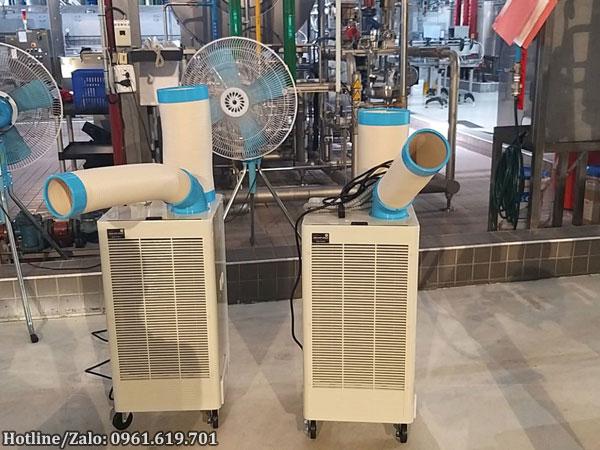 Hình ảnh thực tế máy lạnh di động Nakatomi-N407TC
