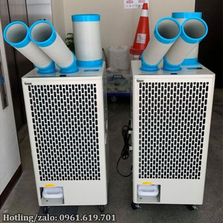 Hình ảnh thực tế máy lạnh di động Nakatomi SAC-6500