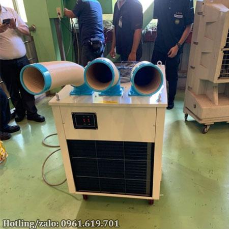 Hình ảnh thực tế máy lạnh di động Nakatomi SAC-7500